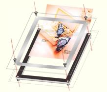 LEDライトパネルアクリル イメージの入れ替え方