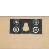 LEDパネルGSウッド調フレーム壁掛けフック2