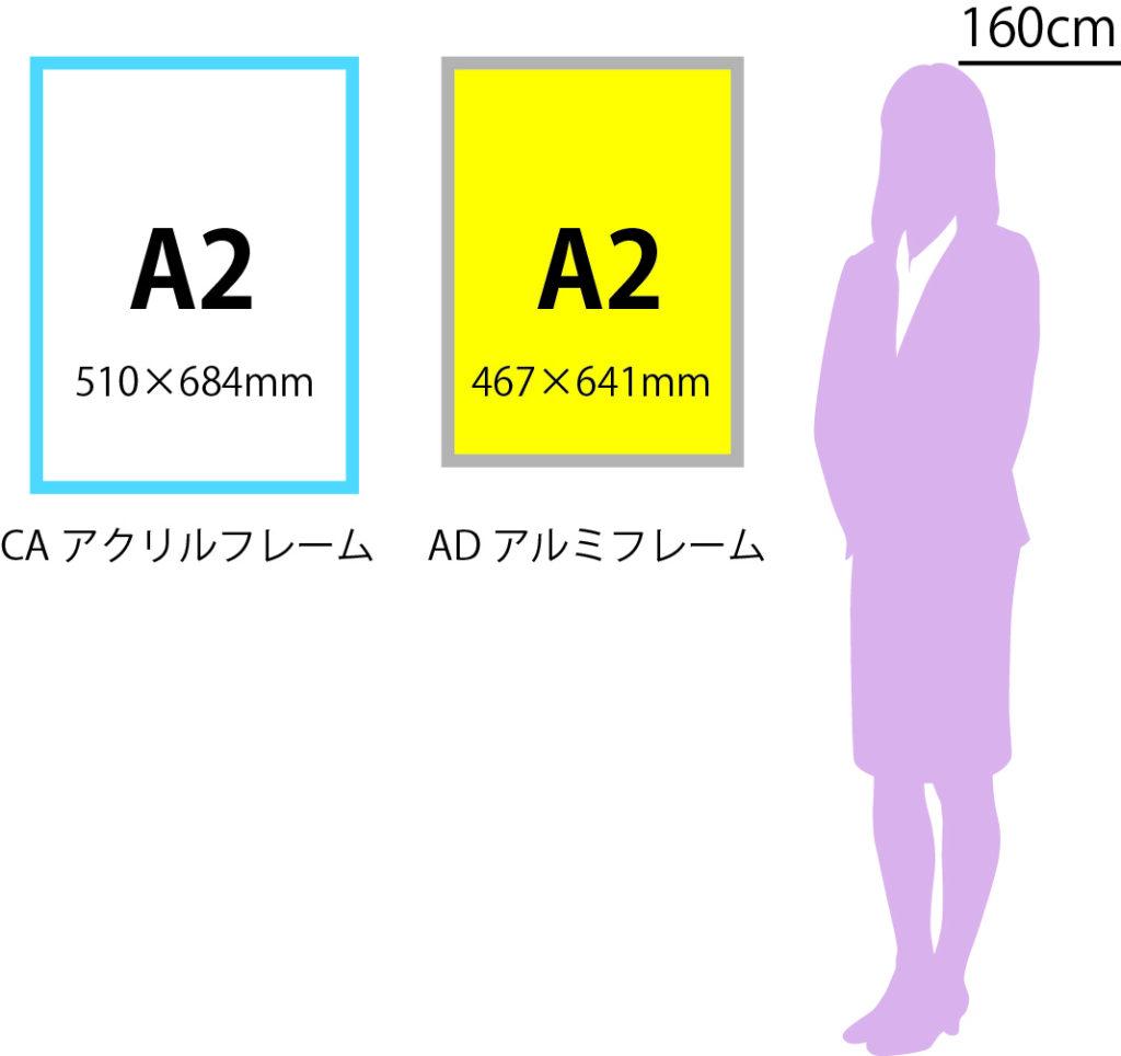 A2サイズ スケール